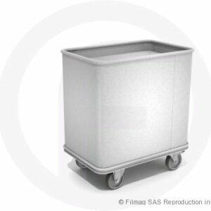 Bacs aluminium à fond mobile