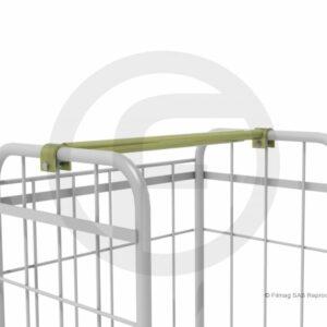 Barre penderie télescopique pour chariot de largeur 68 à 80 cm