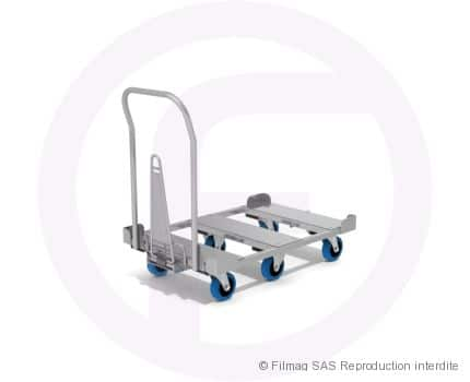 Base tubulaire tractable