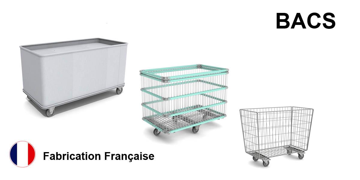 Produit bacs à Linge- agencement de magasin - Fabricant FILMAG