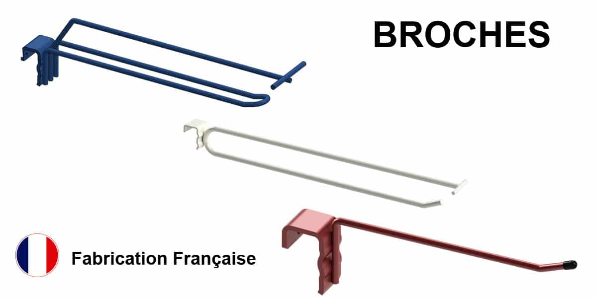 Produit broches - agencement de magasin - Fabricant FILMAG
