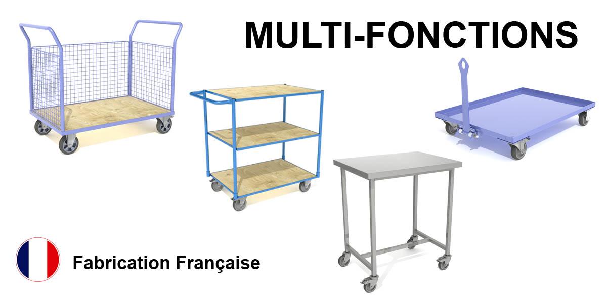 Produit Chariot à Linge- agencement de magasin - Fabricant FILMAG